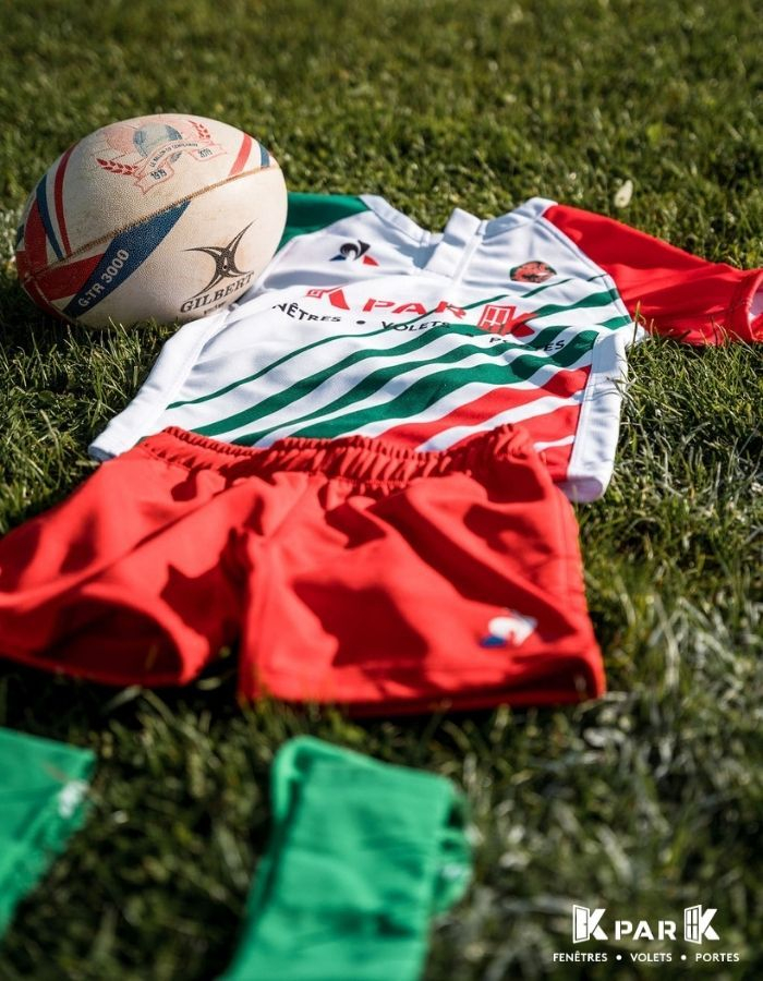 rugby club buxy kpark maillots