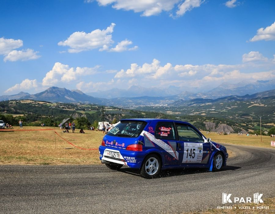 voiture bleue kpark ag competition