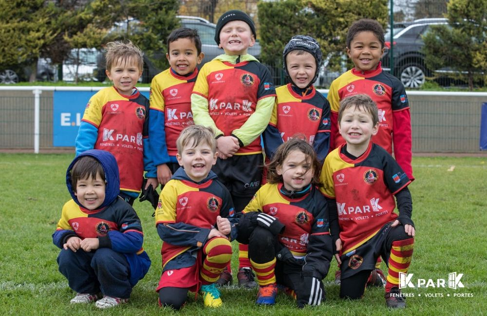 equipe -6 ans rugby houilles kpark