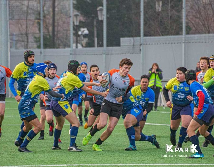 plaquage match acbb rugby kpark